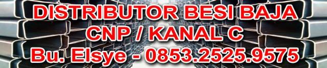 Distributor Besi Baja Kanal CNP Surabaya Bu Elsye 0853-2525-9575 ukuran 50 60 75 100 120 125 150 200